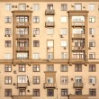 Urban residential building front view — Stock Photo #67724261