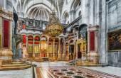 Jerusalem. Israel. Holy Sepulchre Church - Church of the Resurrection — Foto de Stock