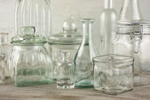 Glassware collection — Stock Photo