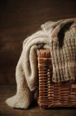 Knitted sweaters — Stock fotografie