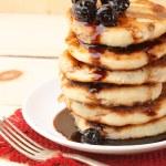 Cottage cheese pancakes — Stock Photo #54774099