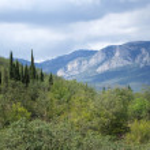 Mountain landscape — Stock Photo #55319447