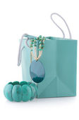 Turquoise bijou — Stock Photo