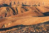 Hills at sunset — Stockfoto