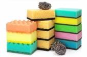 Assorted sponges — Stock Photo