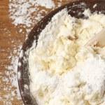 Cooking: kneading dough — Stock Photo #59934625