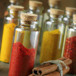 Spices in bottles — Stock Photo #60113903