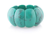 Turquoise bracelet — Stock Photo