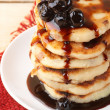 Cottage cheese pancakes — Stock Photo #62229629