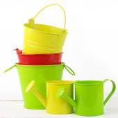Colorful gardening set — Stockfoto