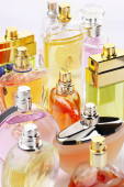 Perfumes set — Stock Photo