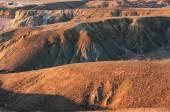Hills at sunset — Stock Photo