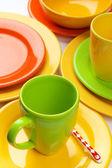 Renkli çanak çömlek — Stok fotoğraf