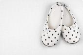 Feminine slippers — Stock Photo