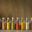 Spices in bottles — Stock Photo #65033589