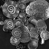 Ethnic jewelry — Stock Photo