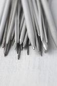Set of knitting needles close-up — Stock Photo