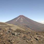 Lonquimay-vulkan, chile — Stockfoto