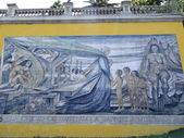 Tribute to Gabriela Mistral, Santiago de Chile — Stock Photo