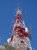 Telecommunications antenna — Stock Photo