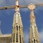 Sagrada Familia Temple in Barcelona — Stock Photo #64439671