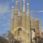 Sagrada Familia Temple in Barcelona — Stock Photo #64439201