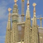 Sagrada Familia Temple in Barcelona — Stock Photo #64439313