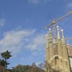 Sagrada Familia Temple in Barcelona — Stock Photo #64439329