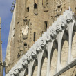 Sagrada Familia Temple in Barcelona — Stock Photo #64439819