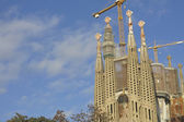 Sagrada Familia Temple in Barcelona — Photo