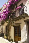 地中海の家 — ストック写真