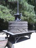 Ancient wine press in Chile. — Stock Photo