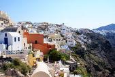 Santorini Island, Yunanistan mimarisi — Stok fotoğraf