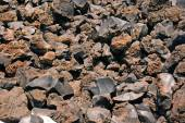 Closeup image of volcanic foam on the market in the town of Thir — Stock Photo