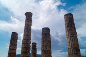 Temple of Apollo at Delphi oracle archaeological site in Greece — Stock Photo