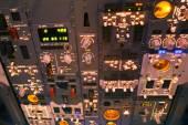 Dashboard of an aircraft — Foto de Stock