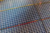 Solar cells texture — Stock Photo