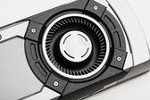 Turbo fan of graphic card — Stockfoto