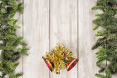 Christmas card background with a space for text — Stockfoto