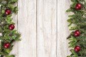 Tarjeta de Navidad de fondo con un espacio para el texto — Foto de Stock