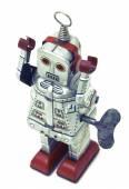 Jouet robot rétro — Photo