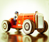 Old car toy — Stock Photo