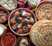 Traditional macedonian and balkans food — Stock Photo