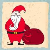 Cute Santa Claus — Stock Vector
