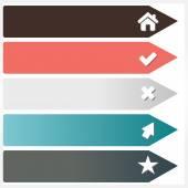 Modern design template — Stock Vector