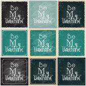 Valentine's Day cards — Stock Vector