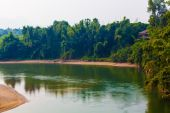 River Kwai. Thailand  — Stock Photo