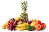 Assortment of exotic fruits. Fresh Fruits — Stock Photo