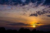 Sunset Sky Background  — Stock Photo
