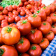 Photo of  tomatoes. tomato background — Foto de Stock   #54387521